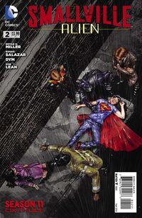 Smallville Season 11 Alien Vol 1 2