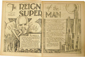 Reign of the Superman Story