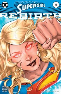 Supergirl 2016 Rebirth