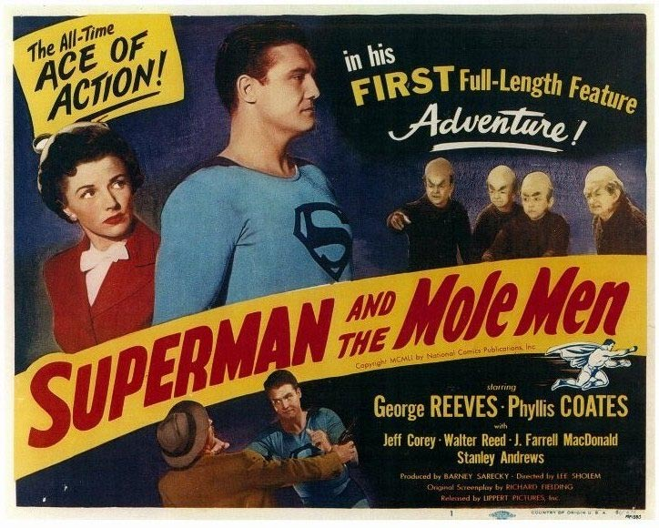 Image result for superman and the mole men