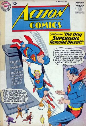 The Day Supergirl Revealed Herself