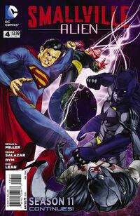 Smallville Season 11 Alien Vol 1 4