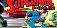 Superman newspaper comic strips