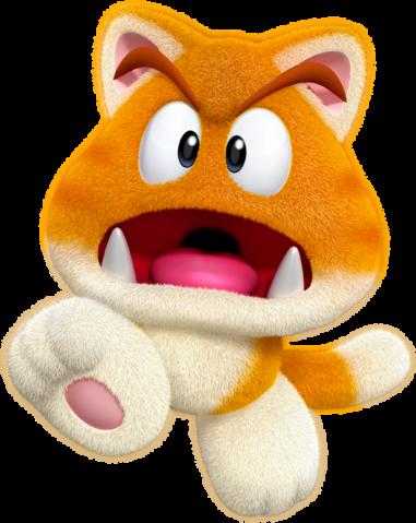 Goomba gatto super mario italia wiki fandom powered by - Monstre de mario ...