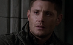Dean cries talking to God