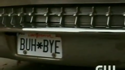 Death's License Plate