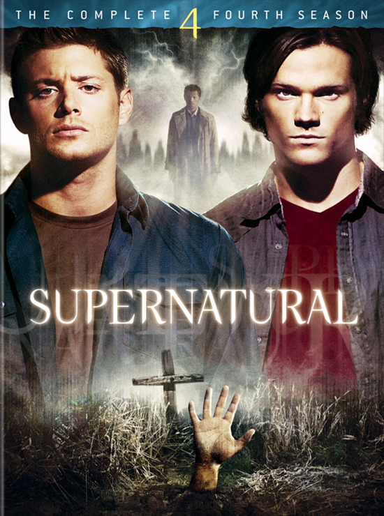 supernatural  the complete fourth season  dvd