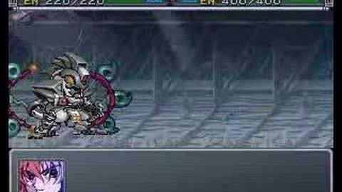 SRW Alpha Gaiden - Thrudgelmir - All attacks