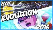 Evolution of HYPER TRONIUM BUSTER CANON (2000-2016) スーパーロポット大戦 SRW