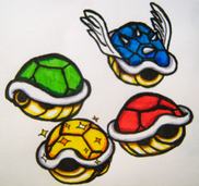 Mario Shells by Cosworth40