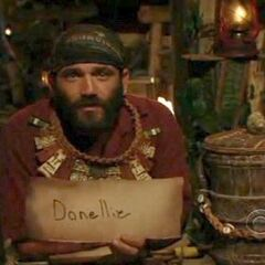 Russell votes out his ally, Danielle.