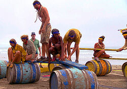 Barrel bridge nicaragua