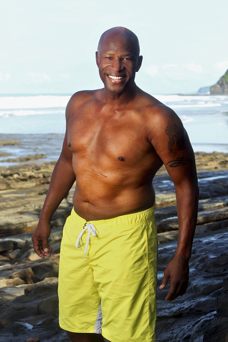 black guy from survivor