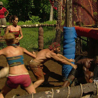 The castaways compete in <i><a href=
