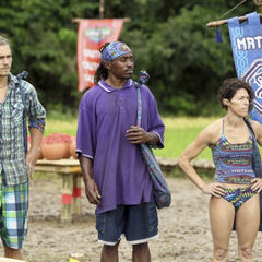 Matsing at the fourth Immunity Challenge.