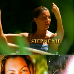 Stephenie's motion shot and picture in the intro.