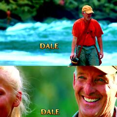 Dale's shots at the opening.