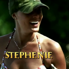 Stephenie's second motion shot in the intro.
