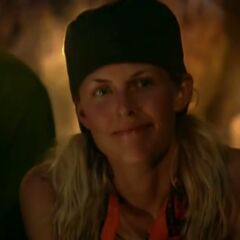 Sally at Tribal Council.