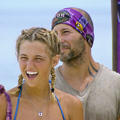 Tony and Jefra before the challenge.