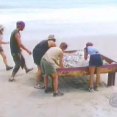 Sook Jai competes in the Immunity Challenge
