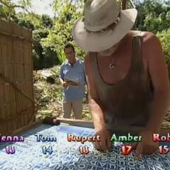 Tom competes for immunity