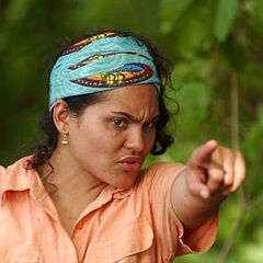 Sandra Diaz-Twine as a member of <a href=