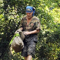Randy at his last individual Immunity Challenge.