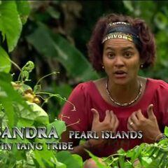 Sandra making a confessional.