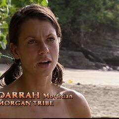 Darrah doing a <a href=