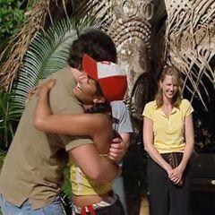 Julie reunites with her best friend, Justin.