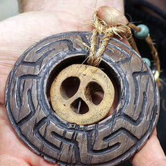 <i>Survivor: Tocantins</i> Hidden Immunity Idol.