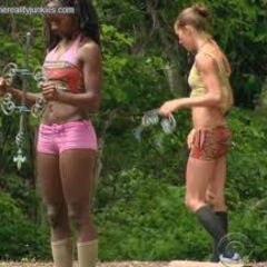 Alina loses the first challenge of merge.