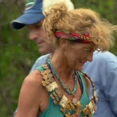 Jane wins individual immunity.
