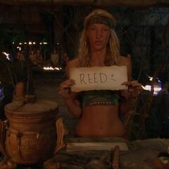 Jaclyn votes against Reed.