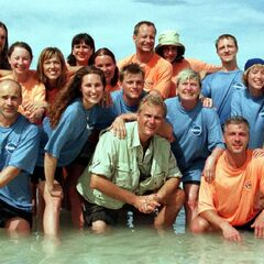 The cast of Expedition Robinson 1998 (minus Jochen)