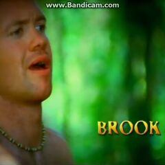 Brook's motion shot in the opening.