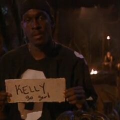 Gervase votes for Kelly to win.