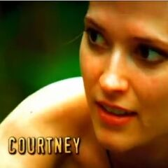 Courtney's second motion shot in the opening.