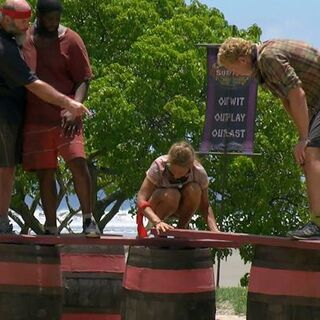 The Red Team competing in <i><a href=