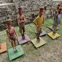 The tribe's first individual challenge, <a href=