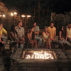La Flor at its first Tribal Council.