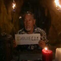 Bruce votes for Danielle