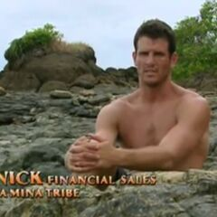 Nick making a confessional as a member of La Mina.