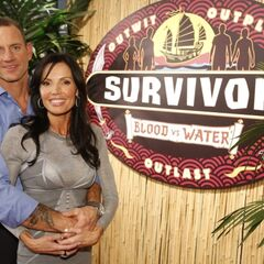 Monica with Brad at the Reunion.
