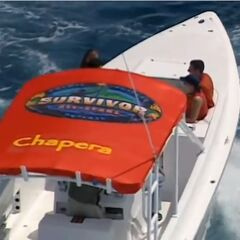 Chapera's speed boat.