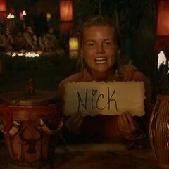 Julia votes against Nick.