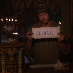Jay votes against Hannah for the second time.