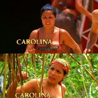 Carolina's shots from the opening.