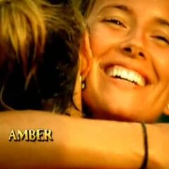 Amber's motion shot in the opening.